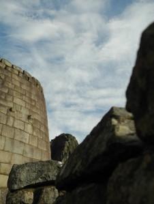 Steinmauern der Stadt